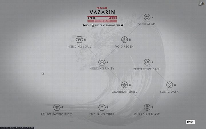 Vazarin System Focus 2 0 Warframe Warframe Game Guide