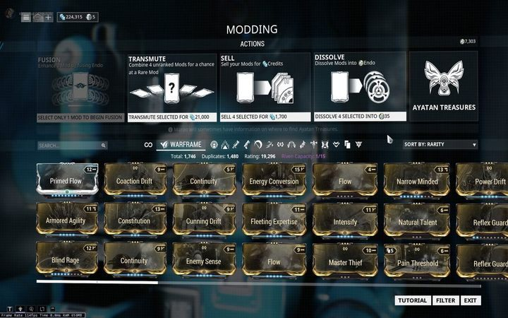 how to change weapons in warframe