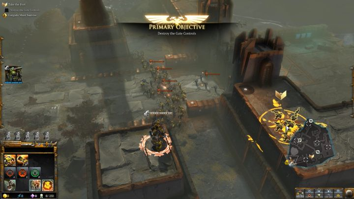 Use the Grapplin Klaw to get to the other side. - Mission 2 - Destined for Greater Fings - Campaign � walkthrough - Warhammer 40,000: Dawn of War III Game Guide