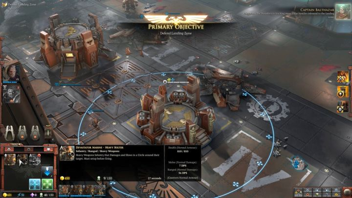 Recruit an additional squad and heal the wounded units. - Mission 4 - Campaign � walkthrough - Warhammer 40,000: Dawn of War III Game Guide