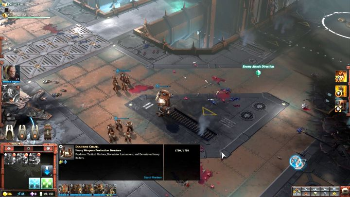 Split up your forces accordingly, in order to deal with the enemy forces. - Mission 4 - Campaign � walkthrough - Warhammer 40,000: Dawn of War III Game Guide