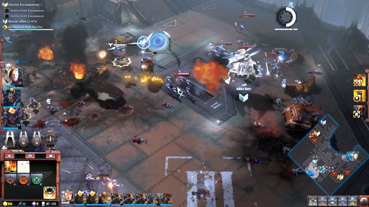 The third group of Space Marines that you need to rescue. - Mission 4 - Campaign � walkthrough - Warhammer 40,000: Dawn of War III Game Guide