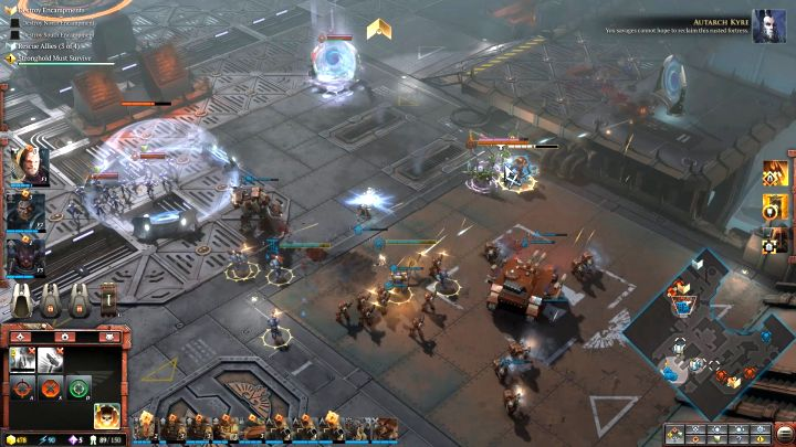 Concentrate fire on the enemy Striking Scorpions, the Eldar elite unit. - Mission 4 - Campaign � walkthrough - Warhammer 40,000: Dawn of War III Game Guide