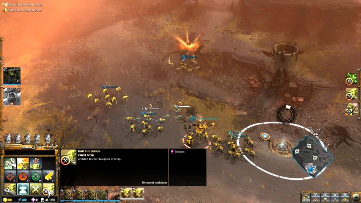 One of the several resource points that you can capture here. - Mission 5 - Campaign � walkthrough - Warhammer 40,000: Dawn of War III Game Guide