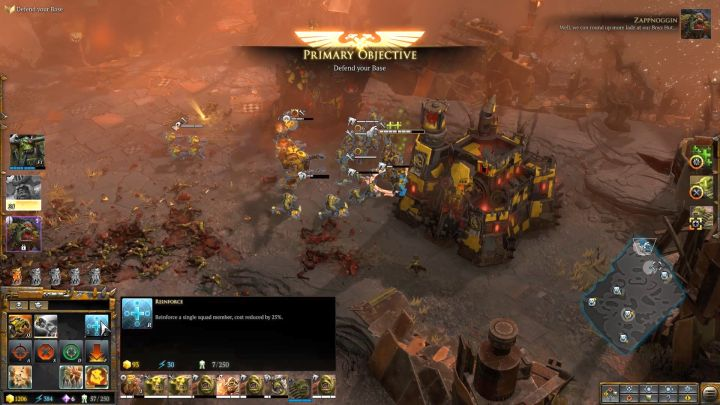 Reinforce troops after each wave of hostile soldiers. - Mission 5 - Campaign � walkthrough - Warhammer 40,000: Dawn of War III Game Guide