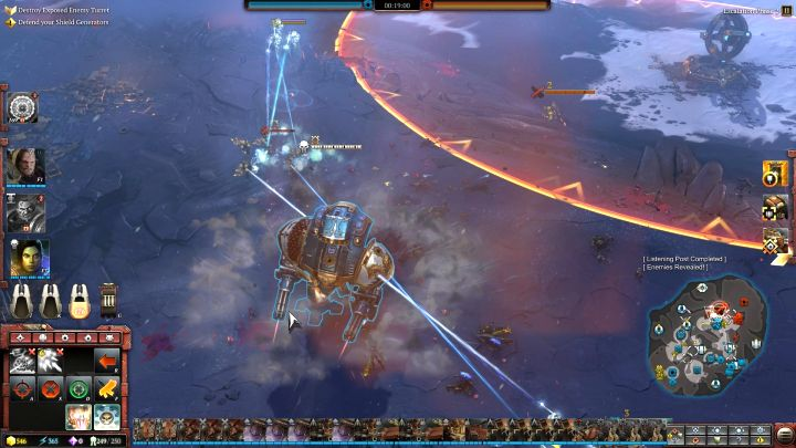 Once youve acquired enough elite points, you can summon the elite unit on the battlefield. - Elite points and elite units - Gameplay - Warhammer 40,000: Dawn of War III Game Guide