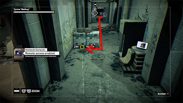 Watch Dogs Bedbug Server Room Camera In Use
