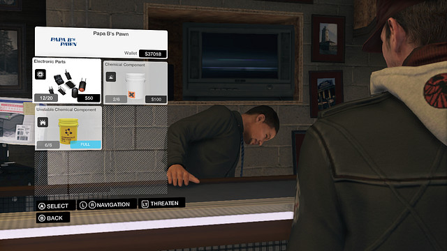 Watch Dogs Buy Crafting Components