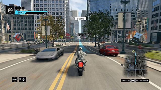 Watch Dogs Fixer Mission Police Car