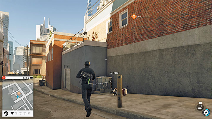 Watch Dogs  Side Operation Paint Job Part