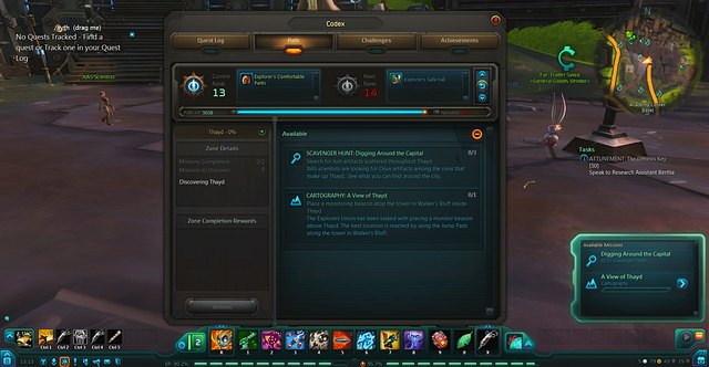 Leveling up of the explorer - Paths - WildStar - Game Guide and Walkthrough