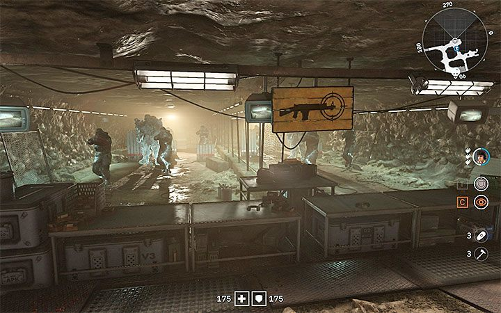How to unlock the shooting range in catacombs in Wolfenstein