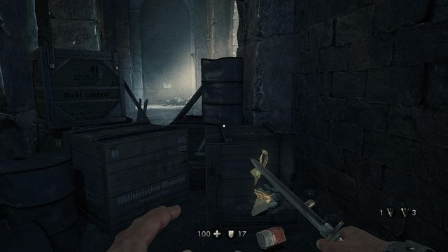 how to open outpost gate wolfenstein new order