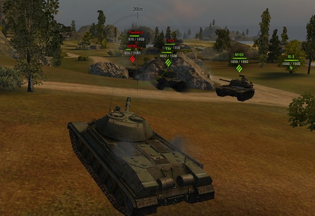 With the preponderance in heavy tanks we can perform a frontal attack and break down the enemy lines. - Heavy tanks - Types of tanks - World of Tanks - Game Guide and Walkthrough