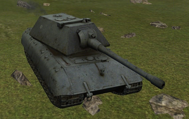 Name - E-100 - Description of selected tanks - World of Tanks - Game Guide and Walkthrough