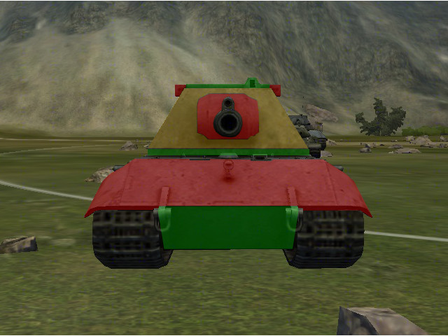 Frontal armor of E-100 is very irregular - for a tank of this size it has many weak points - E-100 - Description of selected tanks - World of Tanks - Game Guide and Walkthrough