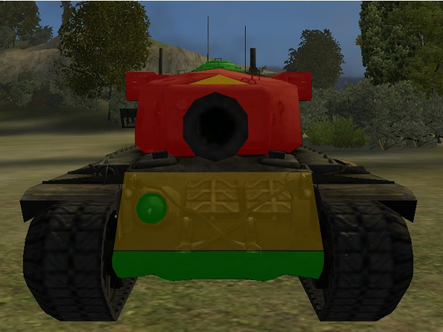 A characteristic feature of T29 is medium armored hull and very resistant turret, so when we fight against it, we have to now, where to aim to destroy it - T29 - Description of selected tanks - World of Tanks - Game Guide and Walkthrough
