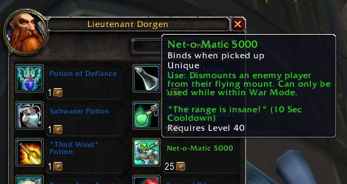 Interestingly, with War Mode, players can use a Net-o-Matic 5000 item throughout Azeroth (and beyond) - PvP, War Mode and PvP gear in WOW Battle for Azeroth - FAQ - World of Warcraft Battle for Azeroth Game Guide