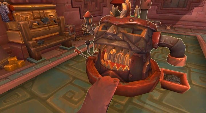 Scrapping machine can be found in the main cities of Zandalar and Kul Tiras. Ask a guard where you can find it. After that, it will be marked on your map. - What is Expulsom and how to get it in WOW Battle for Azeroth? - FAQ - World of Warcraft Battle for Azeroth Game Guide