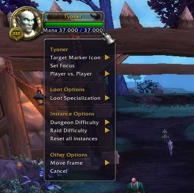 1  Game interface - World of Warcraft: Warlords of Draenor Game