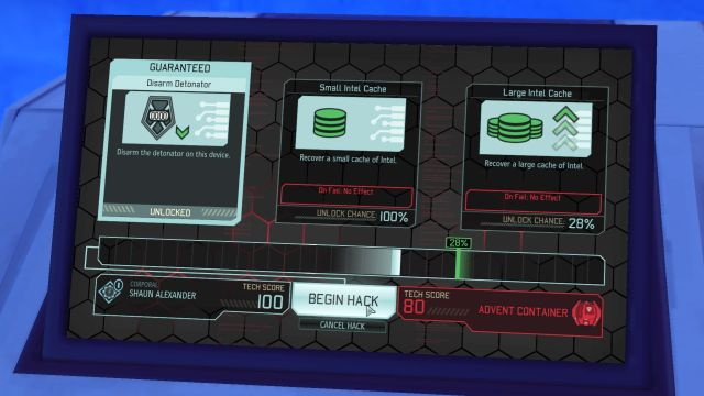 Hacking screen displays all the necessary information in a clear, easy to understand way. - Hacking - Game mechanics - XCOM 2 - Game Guide and Walkthrough