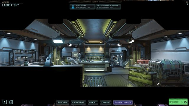 The Laboratory facility. - Laboratory - Available facilities - XCOM 2 - Game Guide and Walkthrough