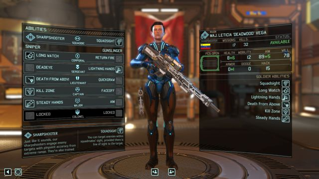 The Sharpshooter class. - Sharpshooter - Soldier Classes - XCOM 2 - Game Guide and Walkthrough
