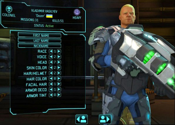 The XCOM: Enemy Unknown can freely customize each of the soldiers - Barracks - XCOM Base - XCOM: Enemy Unknown - Game Guide and Walkthrough