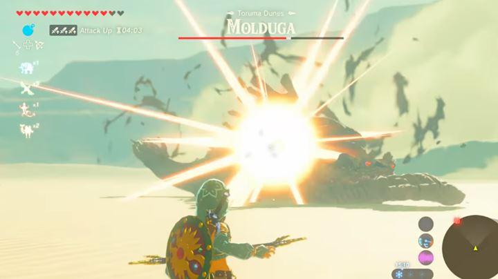 Combat in Zelda Breath of the Wild - The Legend of Zelda