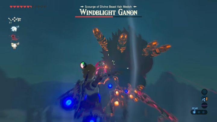 Windblight Ganon Bossfight In Zelda Breath Of The Wild