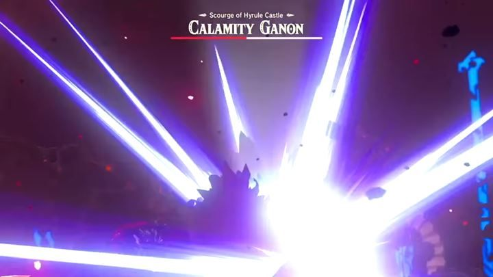 Calamity Ganon Bossfight In Zelda Breath Of The Wild The