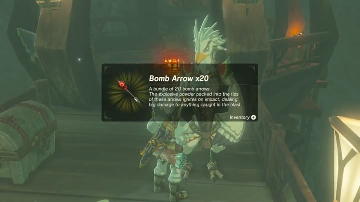 You will get 20 Bomb Arrows before the fight. - Divine Beast Vah Medoh | Bossfights - Bossfights - The Legend of Zelda: Breath of the Wild Game Guide