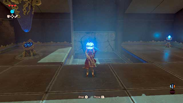 Destroy the wall with a bomb - The Isolated Plateau | Main quests - Main quests - The Legend of Zelda: Breath of the Wild Game Guide