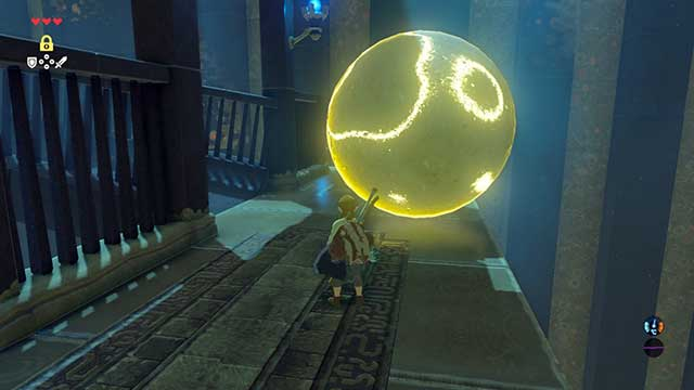 Use Stasis Rune to stop time with given objects - The Isolated Plateau | Main quests - Main quests - The Legend of Zelda: Breath of the Wild Game Guide
