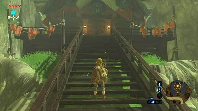 Enter lady Impas house - Seek Out Impa | Main quests - Main quests - The Legend of Zelda: Breath of the Wild Game Guide