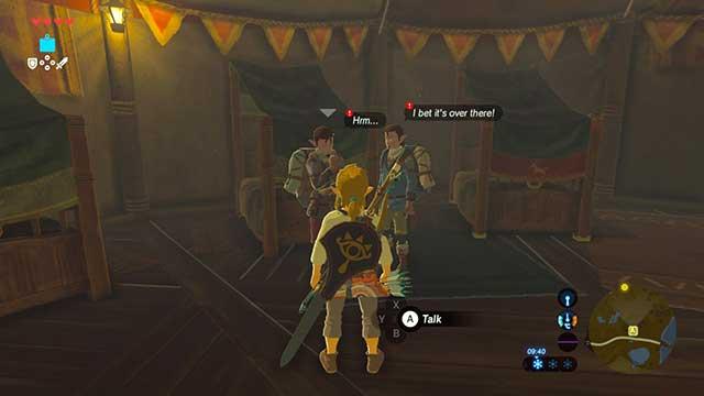 Misko The Great Bandit Zelda >> Side Quests In Dueling Peaks Tower In Zelda Breath Of The Wild The