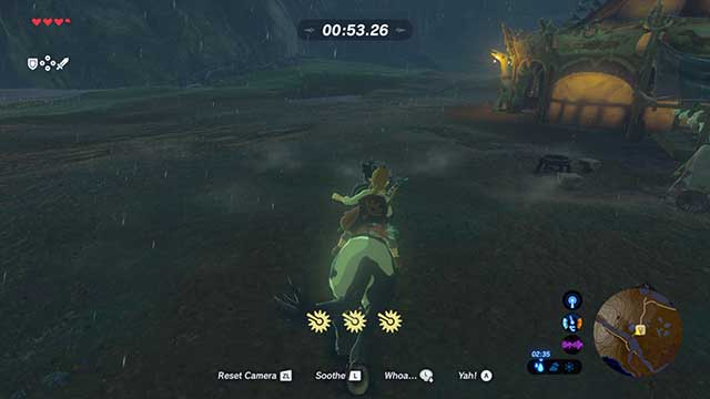 You have got two minutes to deliver the horse - Dueling Peaks Tower | Side quests - Side quests - The Legend of Zelda: Breath of the Wild Game Guide
