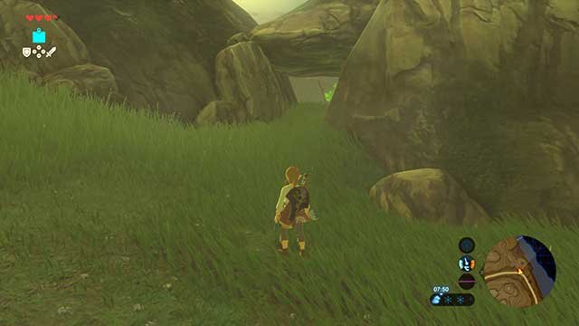 Use this passage to reach village of Bokoblins - Dueling Peaks Tower | Side quests - Side quests - The Legend of Zelda: Breath of the Wild Game Guide