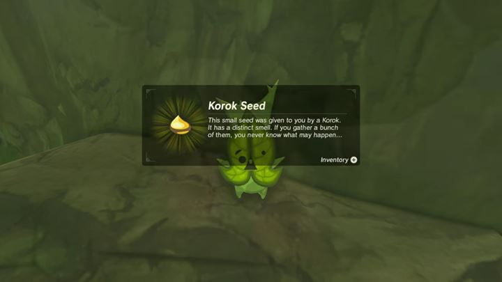Use Korok Seed to increase the capacity of your inventory. - How to increase your inventory capacity? (Locating Hestu) | FAQ - FAQ - Frequently asked questions - The Legend of Zelda: Breath of the Wild Game Guide