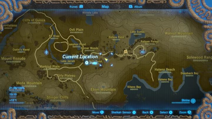 In Hateno Village there is a special statue that allows to redistribute Spirit Orbs. - How to improve stamina/health? | FAQ - FAQ - Frequently asked questions - The Legend of Zelda: Breath of the Wild Game Guide