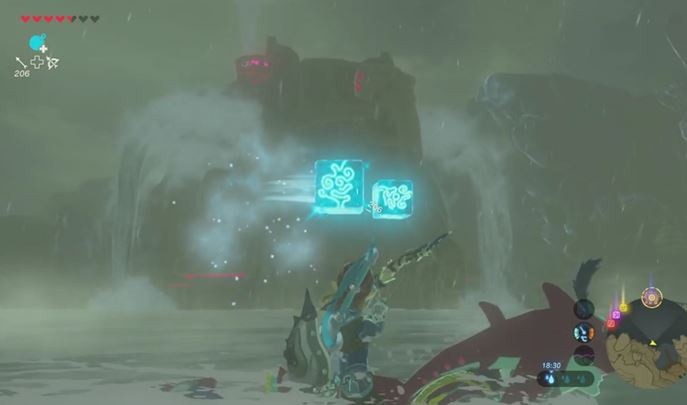 This fight mainly comes down to shooting the ice projectiles. - Divine Beast Vah Ruta | Bossfights - Bossfights - The Legend of Zelda: Breath of the Wild Game Guide